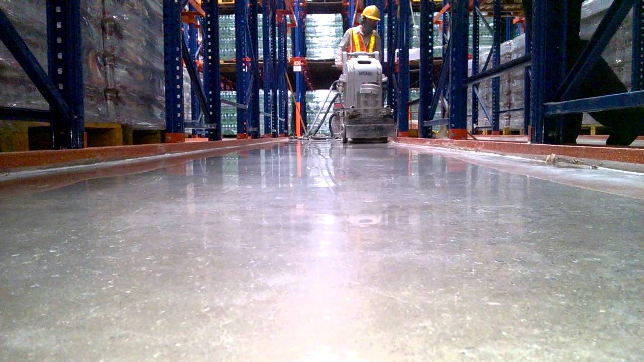 Đánh bóng sàn bê tông công nghiệp sài gòn